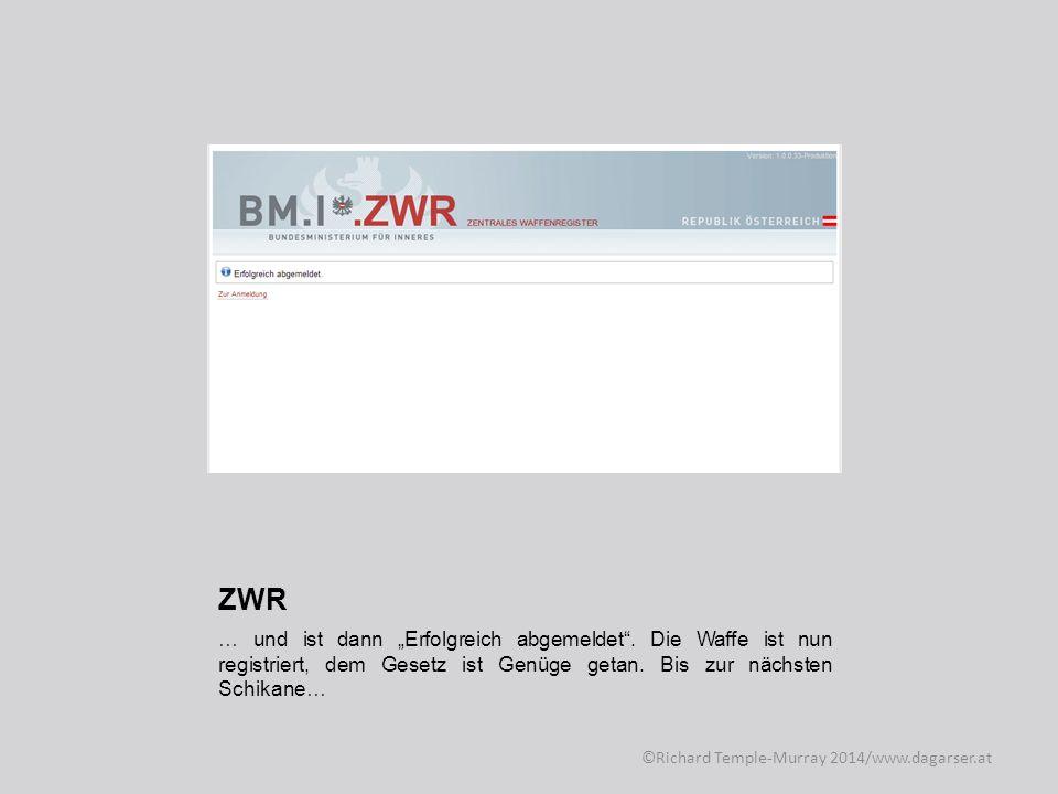Weitere Informationen zum Thema Waffenregistrierung finden Sie im Internet unter http://dagarser.wordpress.com http://dagarser.wordpress.com und auf den Seiten der IWÖ: http://iwoe.at