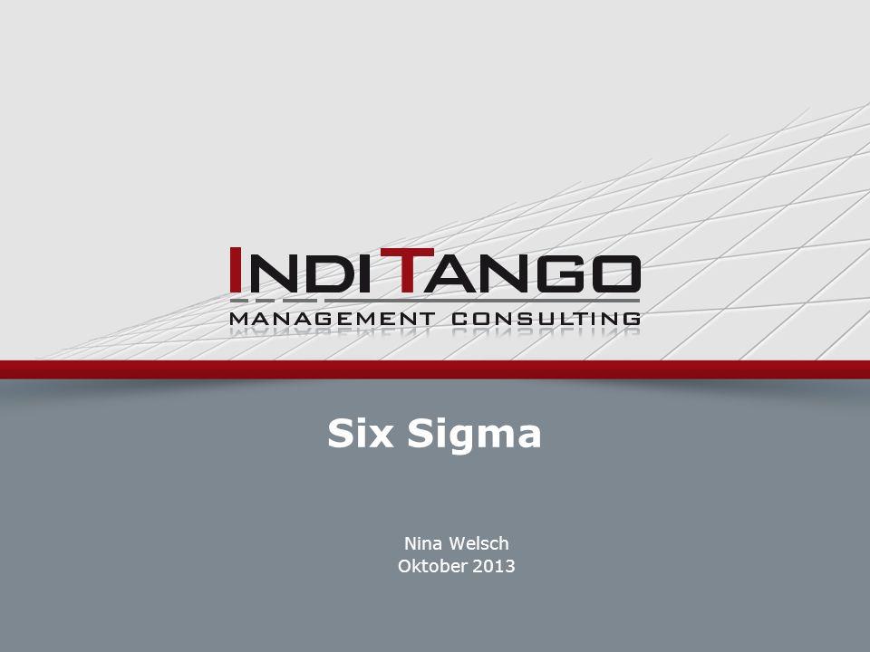 Six Sigma Nina Welsch Oktober 2013