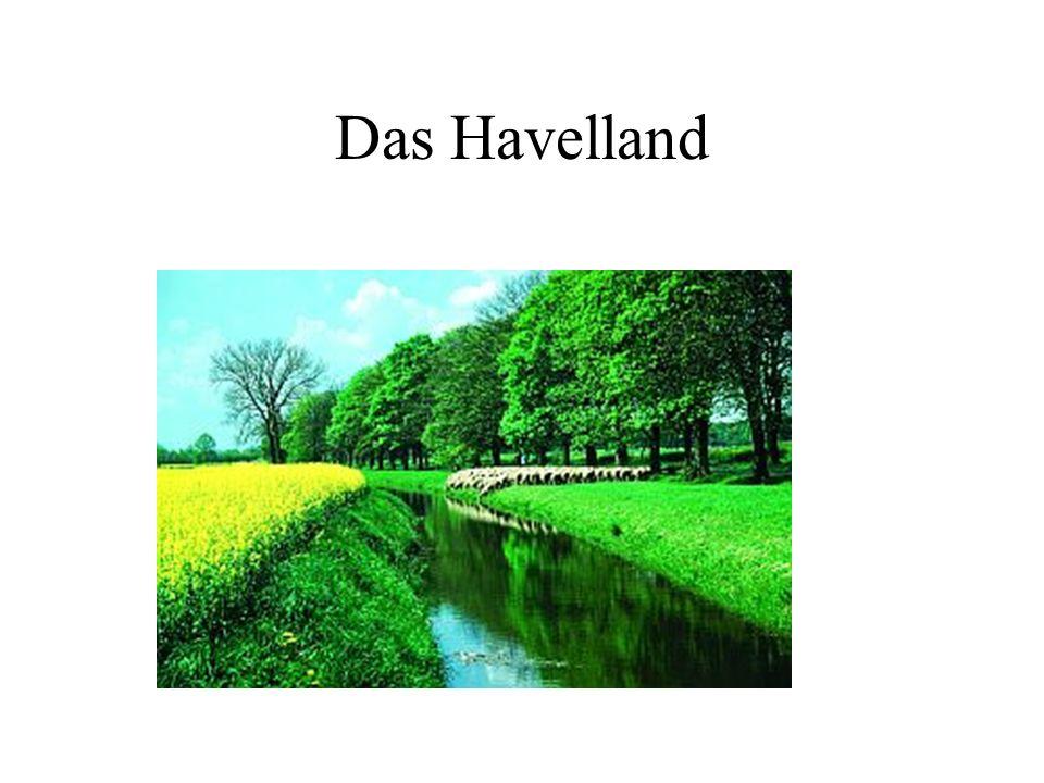 Das Havelland an der Havel