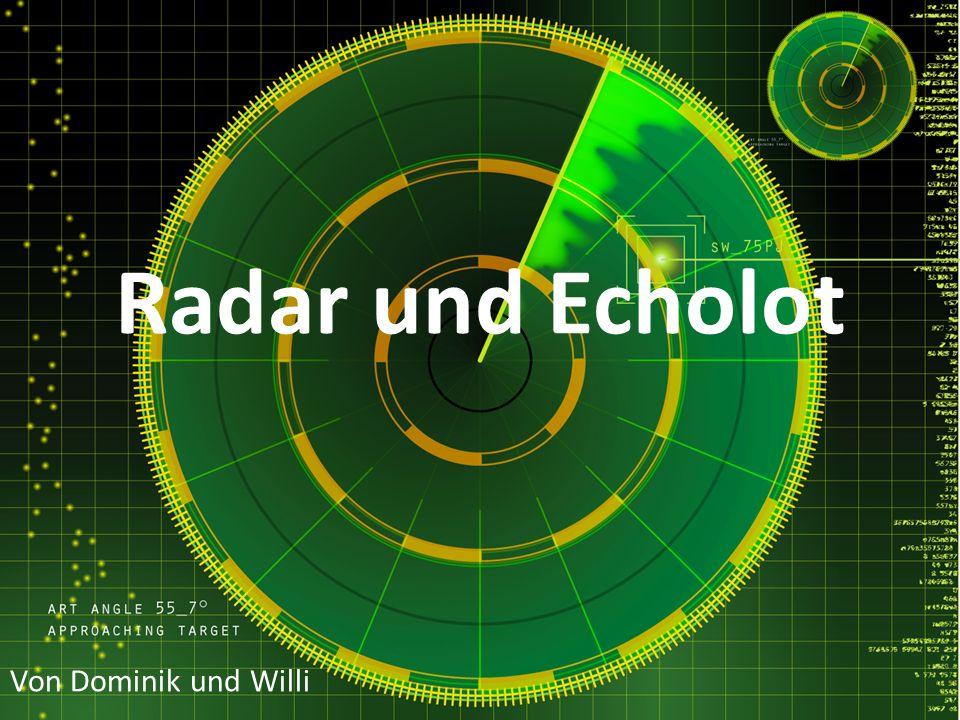 Inhaltsverzeichnis Allgemeines Funktion und Aufbau Primärradar - Pulsradar - CW-Radar Sekundärradar Radar im Tierreich Gefahren Quellen
