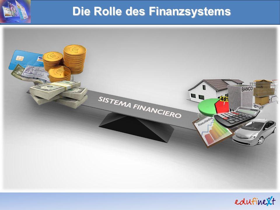 Die Rolle des Finanzsystems