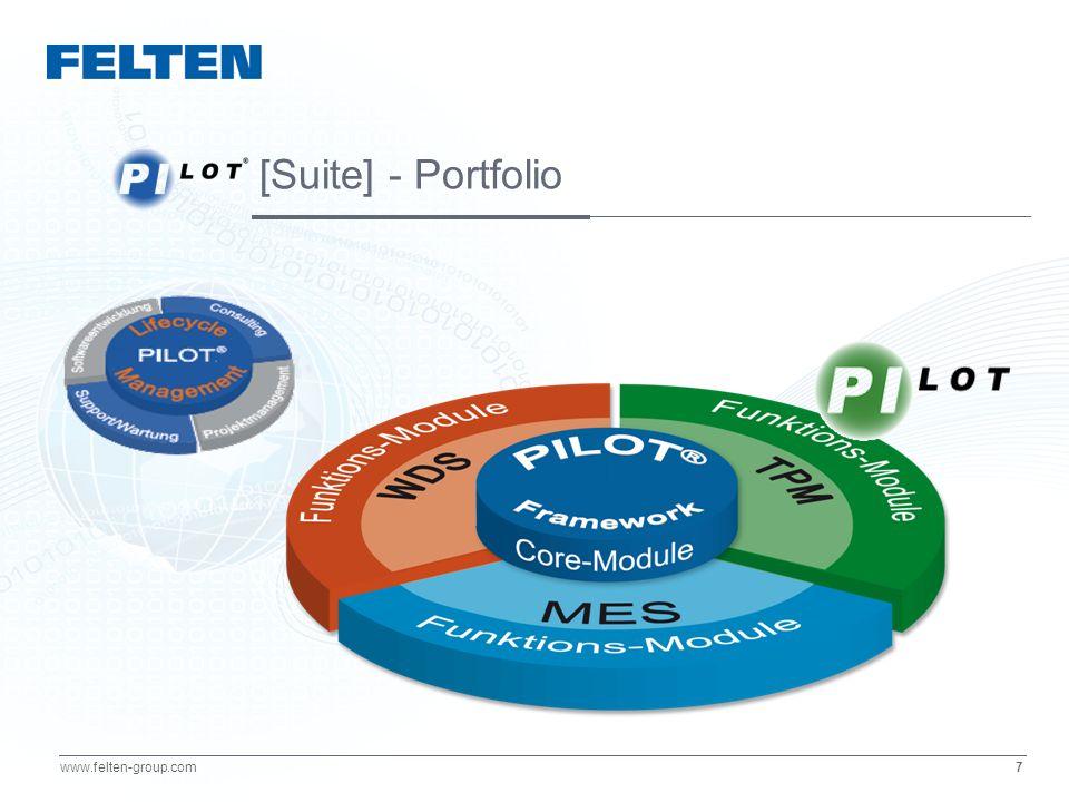 18 www.felten-group.com Linie 1: Gutteile Schlechtteile Q manuell berechnen