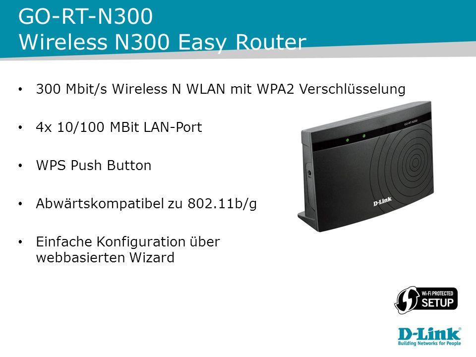150 Mbit Wireless N WLAN WPS Push Button USB 2.0-kompatibel Kompatibel mit Win XP/Vista/Win 7/Win 8 GO-USB-N150 Wireless N150 Easy USB Adapter