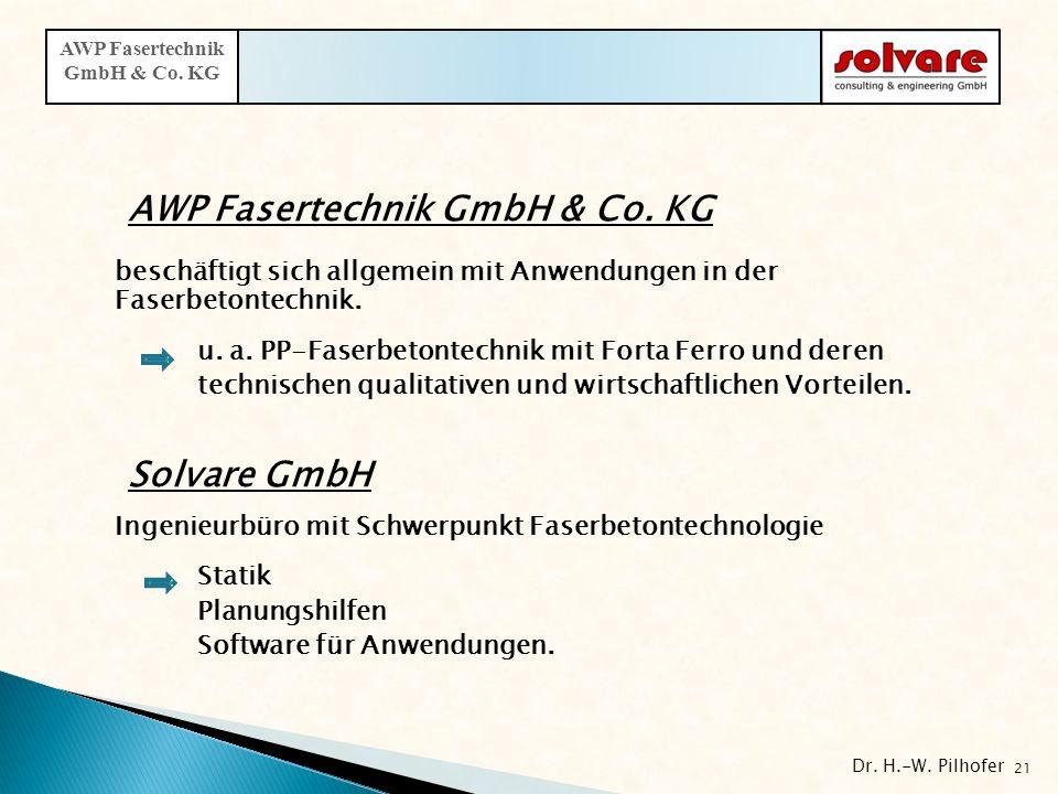 beschäftigt sich allgemein mit Anwendungen in der Faserbetontechnik. u. a. PP-Faserbetontechnik mit Forta Ferro und deren technischen qualitativen und