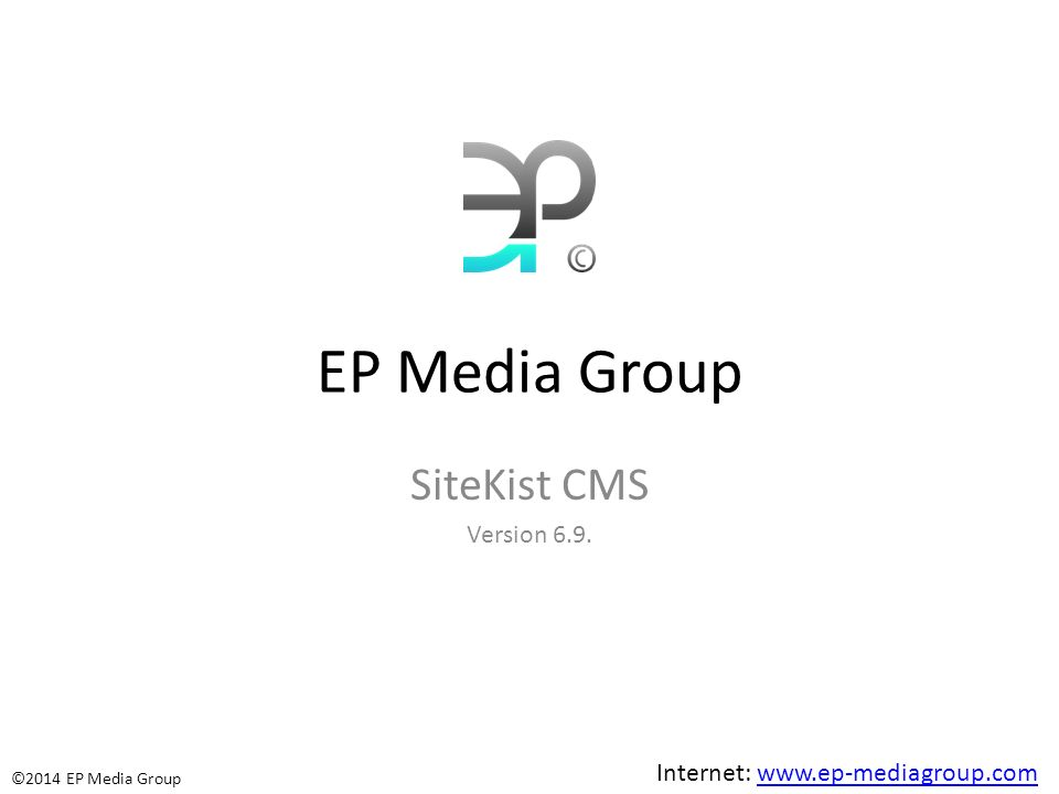 EP Media Group SiteKist CMS Version 6.9.