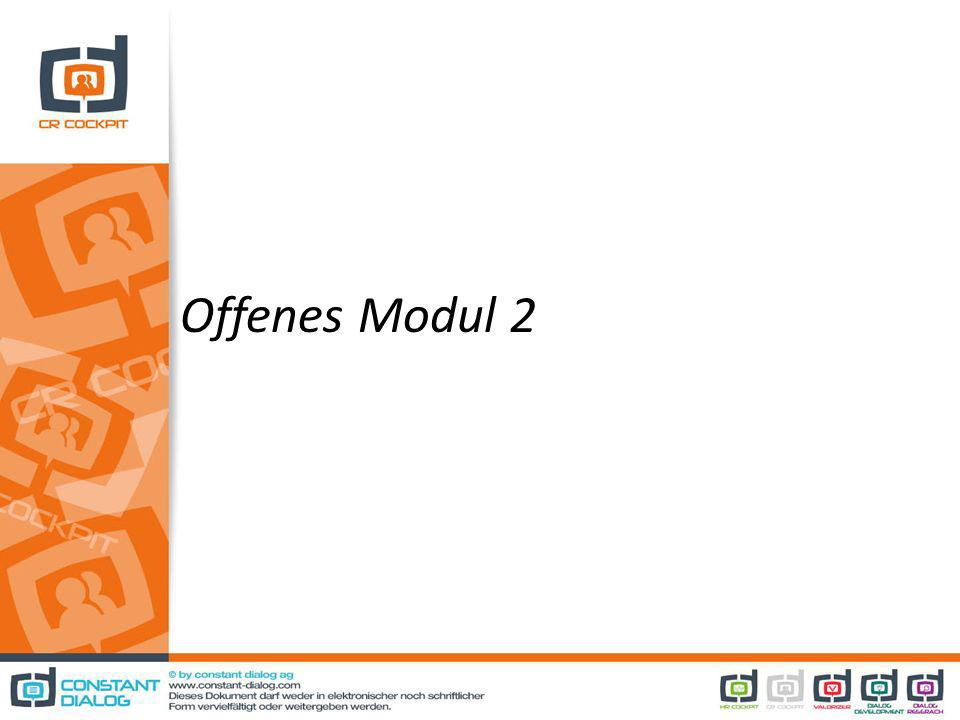 Offenes Modul 2
