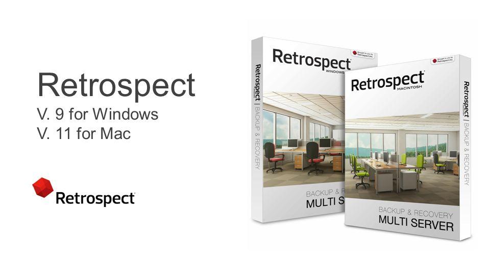 Copyright ® 2014 Retrospect, Inc. BEGLEITENDE FOLIEN Start 23