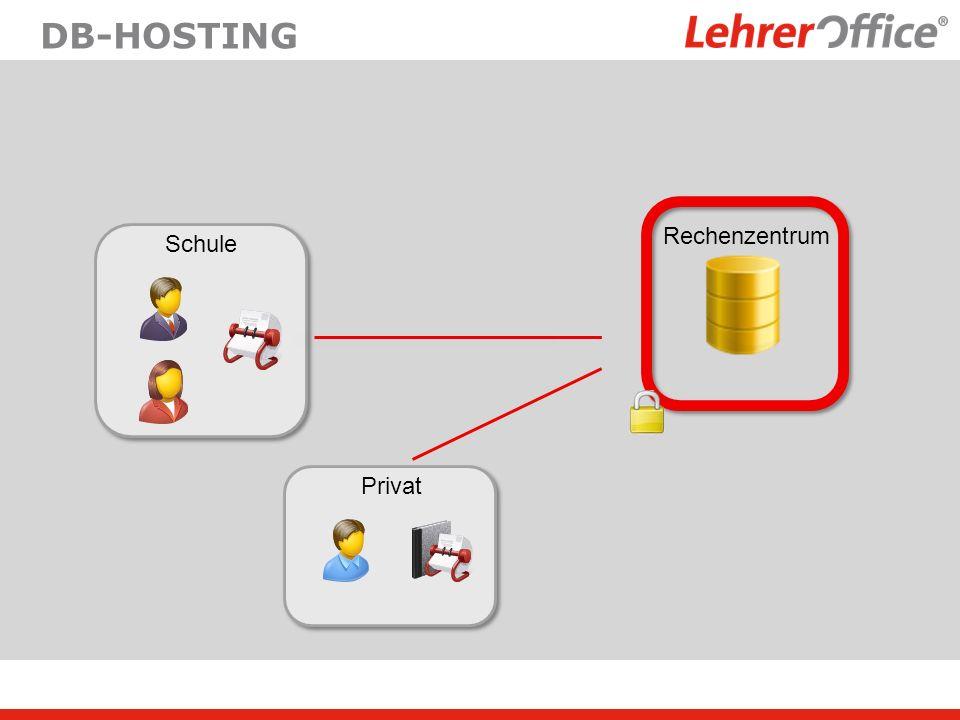 DB-HOSTING Schule Privat Rechenzentrum