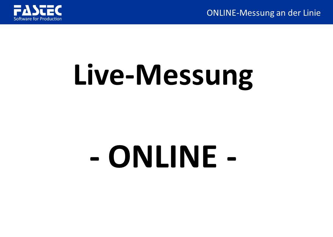 easyOEE-Box m. Netzteil + /O Live-Messung - ONLINE - ONLINE-Messung an der Linie