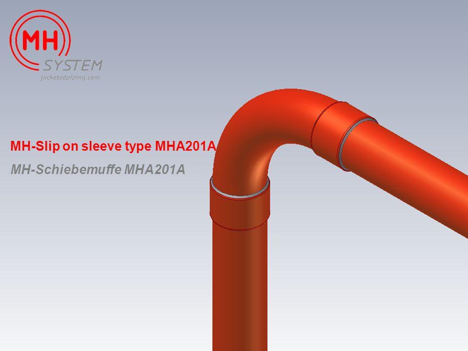 MH-Slip on sleeve type MHA201A MH-Schiebemuffe MHA201A