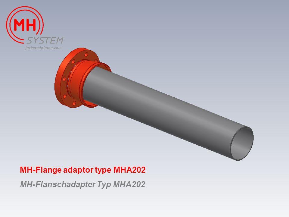 MH-Flange adaptor type MHA202 MH-Flanschadapter Typ MHA202