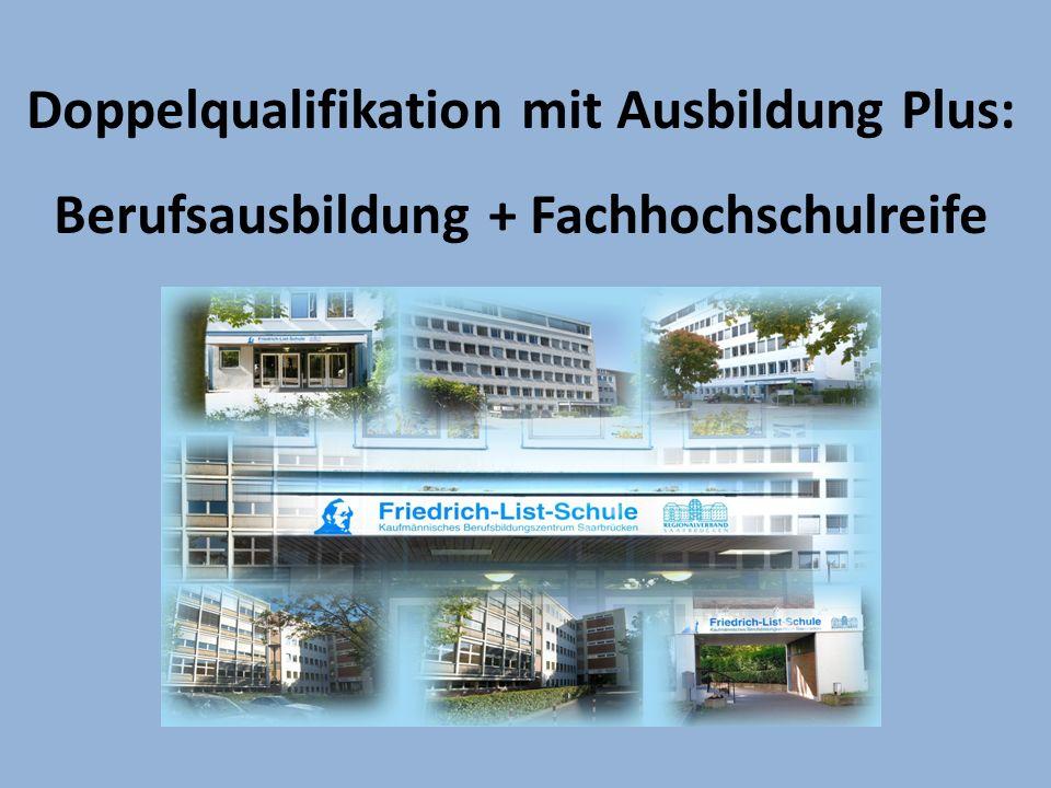Ausbildung Plus: Rechtsgrundlagen Vereinbarung über den Erwerb der Fachhochschulreife in beruflichen Bildungsgängen Beschluss der Kultusministerkonferenz vom 05.06.1998 i.