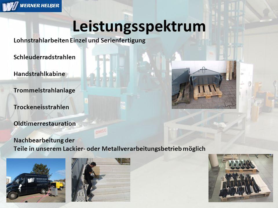 WH Werner Helber Karosseriebau – Metallverarbeitung – Lohnstrahlcenter (Edelstahlstrahlen / Trockeneisstrahlen ) Fahrzeuglackierung – Industrielackierung Woogseestrasse 6-8, 76437 Rastatt Tel.: +49 7222 / 52980 Fax: +49 7222 / 52934 www.whelber.deinfo@whelber.de Wir freuen uns auf Ihren Besuch oder vereinbaren Sie einfach einen Termin bei Ihnen im Hause