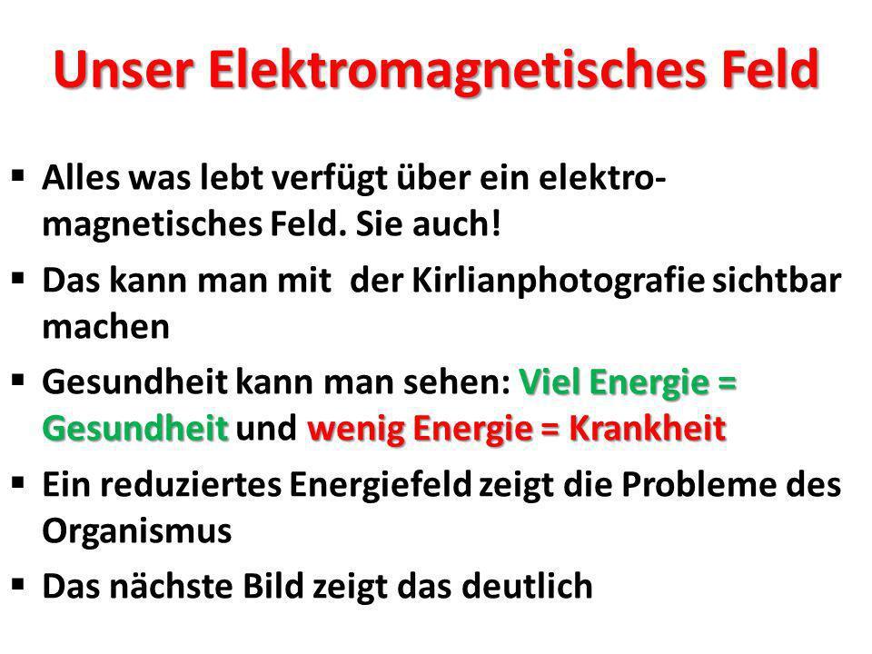 Links: Das elektro- magnetische Feld mit Lücken Rechts: Das elektro- magnetische Feld ist jetzt repariert