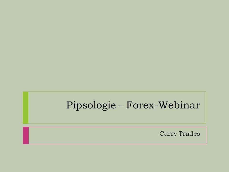 www.pipsologie.com Klassische «Treiber» von Devisen 1.