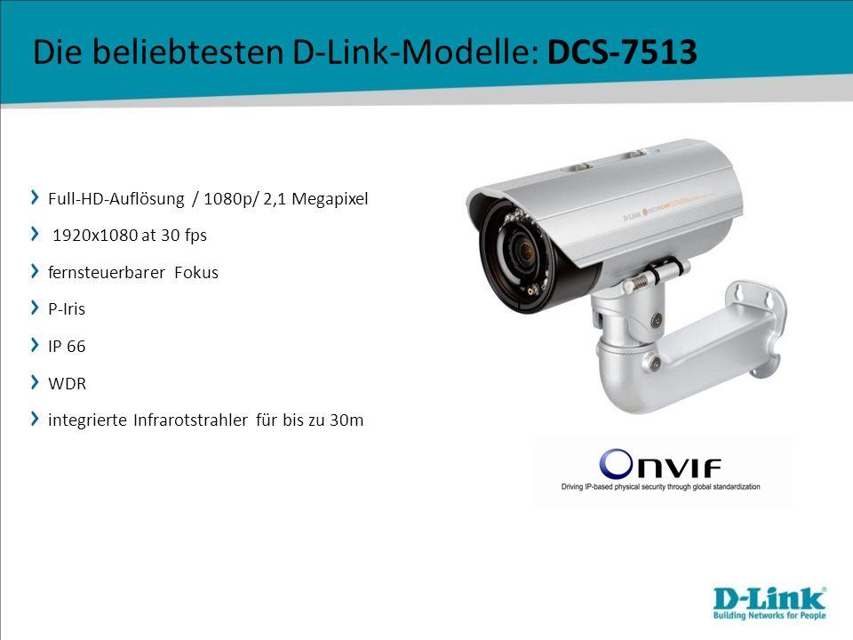 Full-HD-Auflösung / 1080p/ 2,1 Megapixel 1920x1080 at 30 fps fernsteuerbarer Fokus P-Iris IP 66 WDR integrierte Infrarotstrahler für bis zu 30m Die be