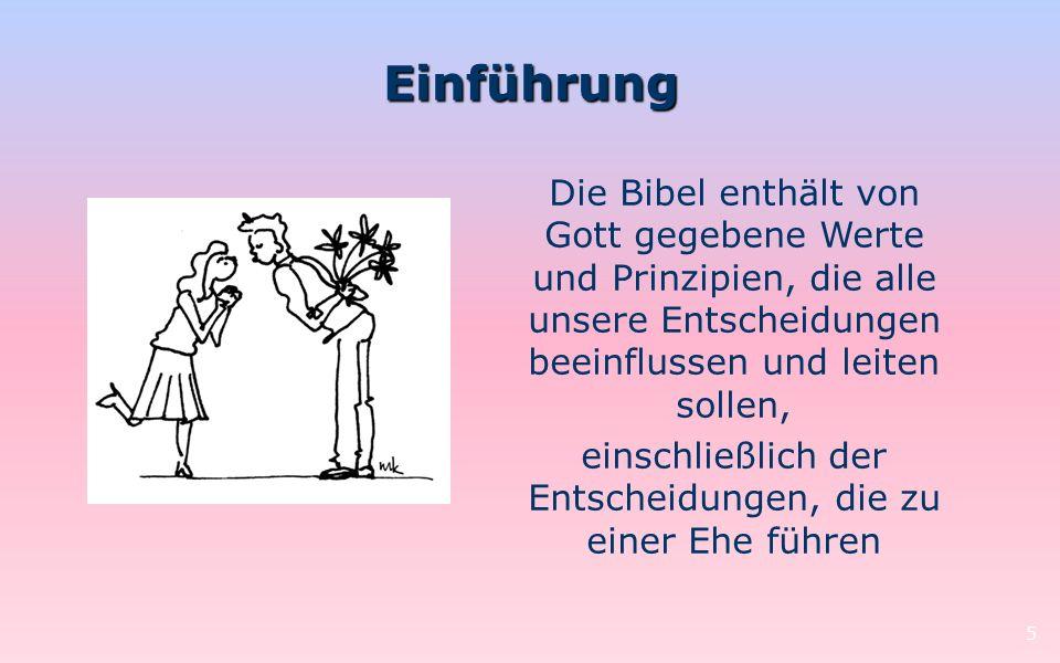 Singledasein, Ehe und Reinheit 46 4.Zusammenleben vor der Ehe.