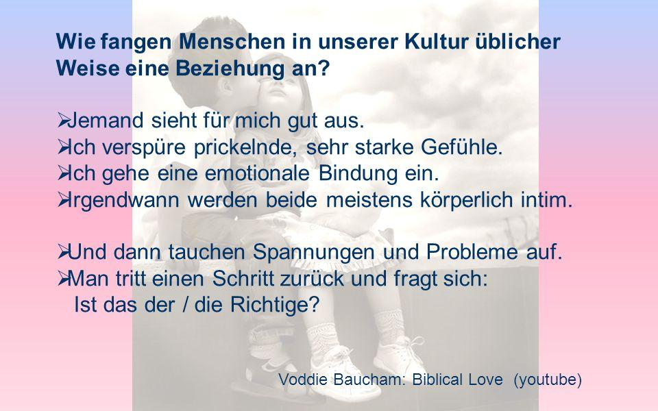 Voddie Baucham: Biblical Love (youtube) Christus wird uns als Vorbild der Liebe hingestellt: Wie sieht Liebe bei dir aus.