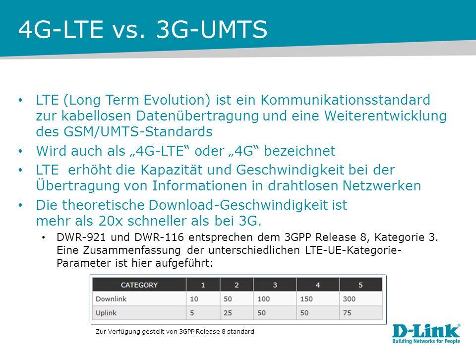 4G-LTE vs.