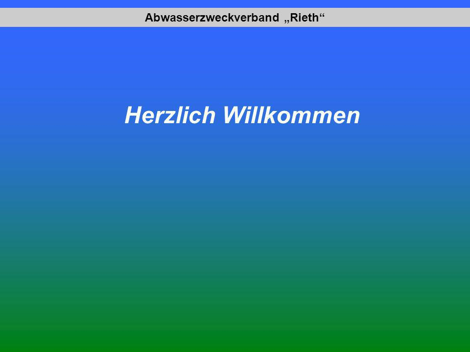 Abwasserzweckverband Rieth Herzlich Willkommen