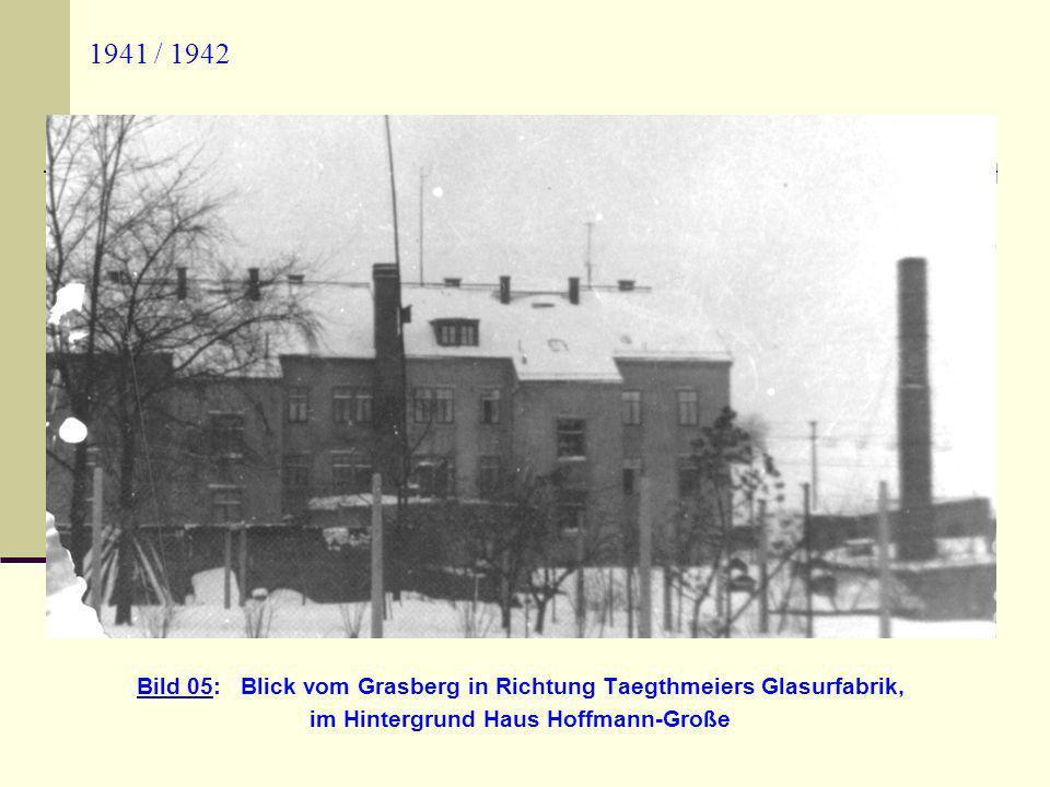 Herbst 19.09.1979 Bild 16: Blick auf das ehemalige Steinbruchgelände sowie die Großenhainer Straße und auf Zscheila