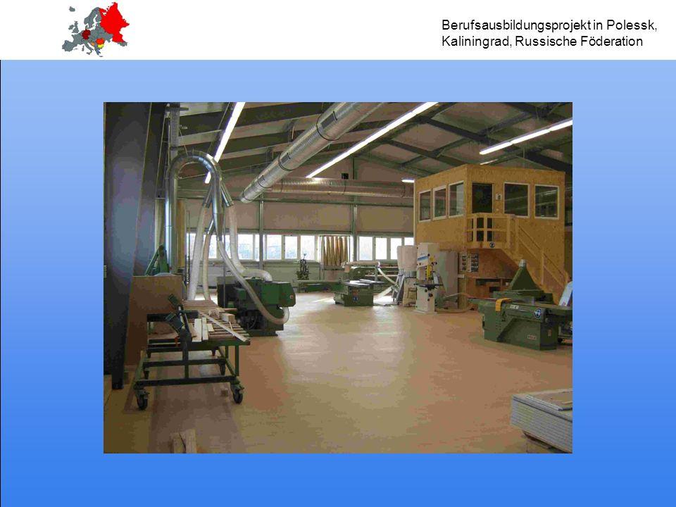Berufsausbildungsprojekt in Polessk, Kaliningrad, Russische Föderation