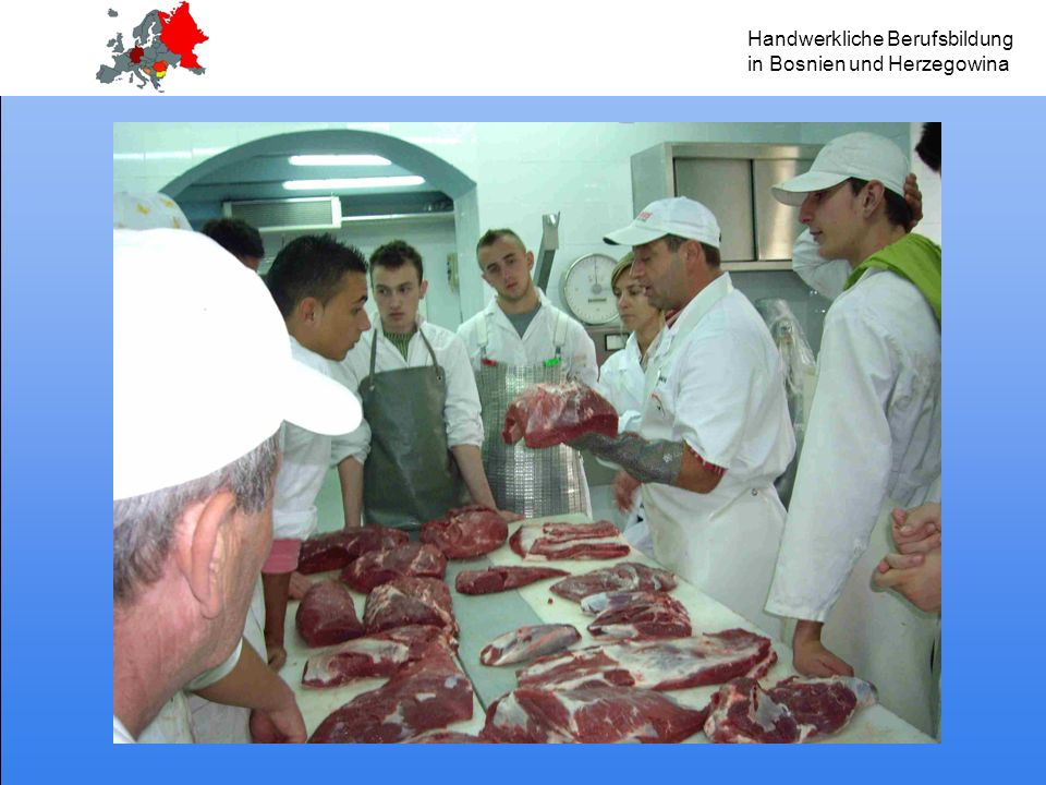 Handwerkliche Berufsbildung in Bosnien und Herzegowina