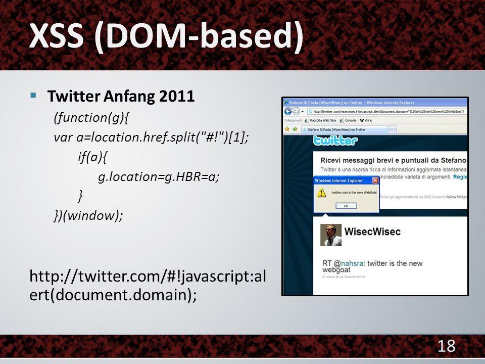 Twitter Anfang 2011 (function(g){ var a=location.href.split(