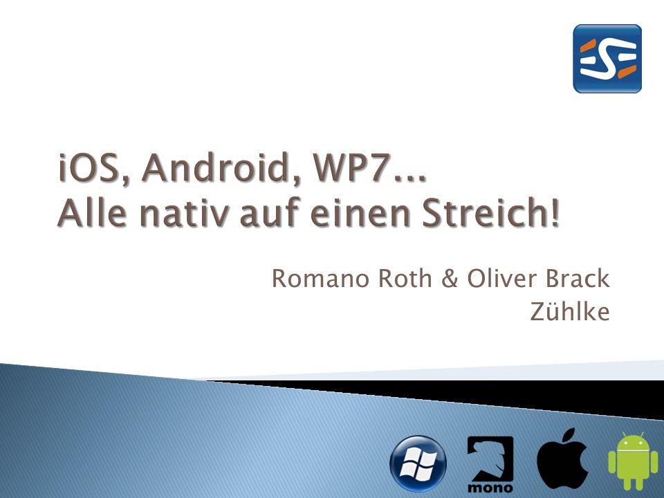 Romano Roth & Oliver Brack Zühlke