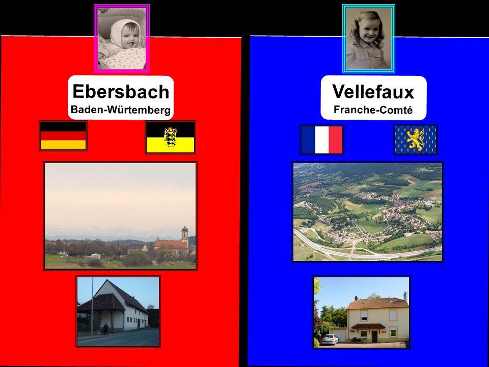 Vellefaux Franche-Comté Ebersbach Baden-Würtemberg