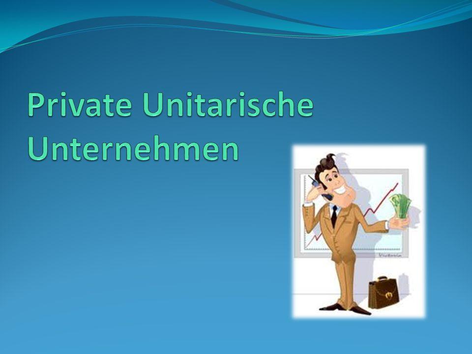 Private Unitarische Unternehmen eine belarussische Sonderform (in Deutschland kein Äquivalent).