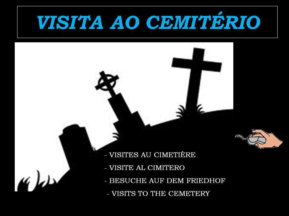 VISITA AO CEMITÉRIO - VISITES AU CIMETIÈRE - VISITE AL CIMITERO - BESUCHE AUF DEM FRIEDHOF - VISITS TO THE CEMETERY
