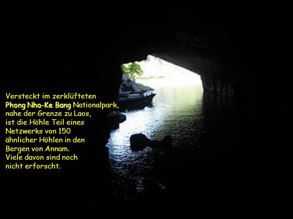 Phong Nha-Ke Bang Die Wissenschaftler Howard und Deb Limbert von der britischen Höhlenforschungs-Vereinigung führten vom 10-14 April 2009 eine Untersu