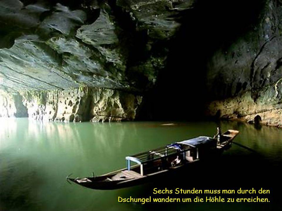 Versteckt im zerklüfteten Phong Nha-Ke Bang Nationalpark, nahe der Grenze zu Laos, ist die Höhle Teil eines Netzwerks von 150 ähnlicher Höhlen in den