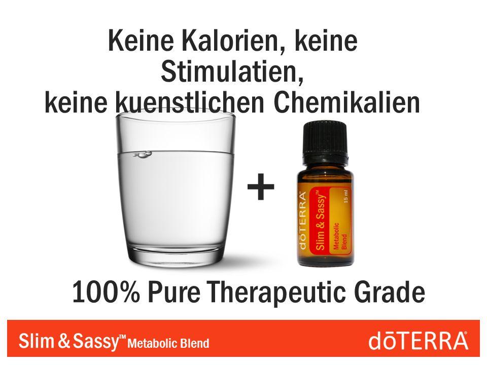 Slim & Sassy Metabolic Blend + Keine Kalorien, keine Stimulatien, keine kuenstlichen Chemikalien 100% Pure Therapeutic Grade
