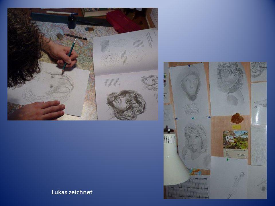 Lukas zeichnet