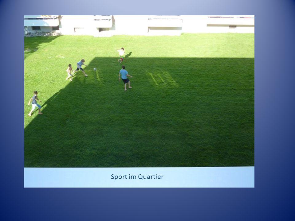 Sport im Quartier