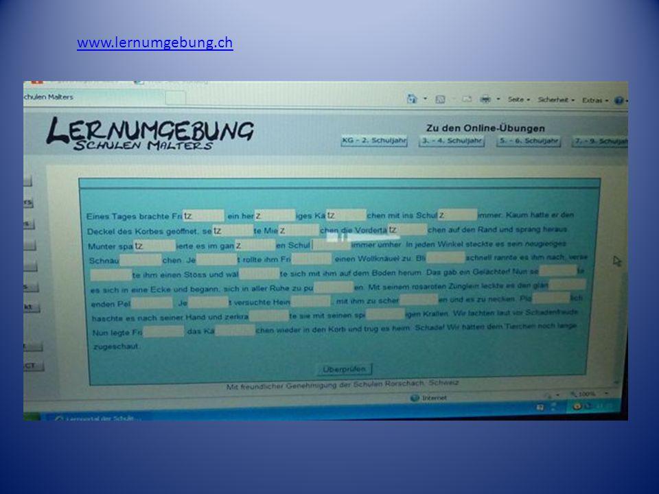 www.lernumgebung.ch