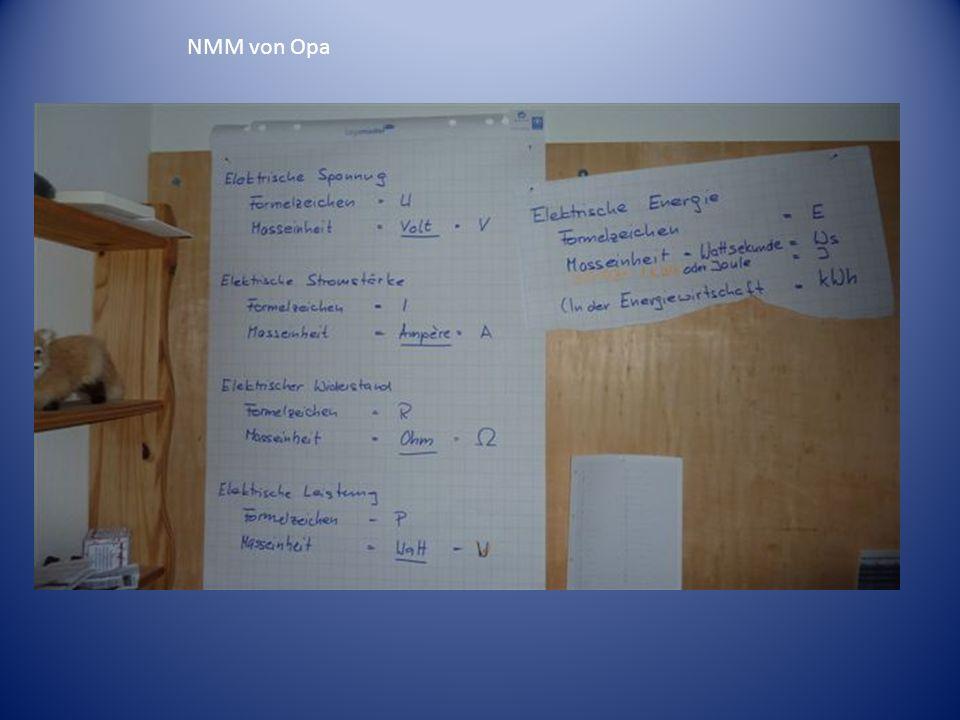 NMM von Opa