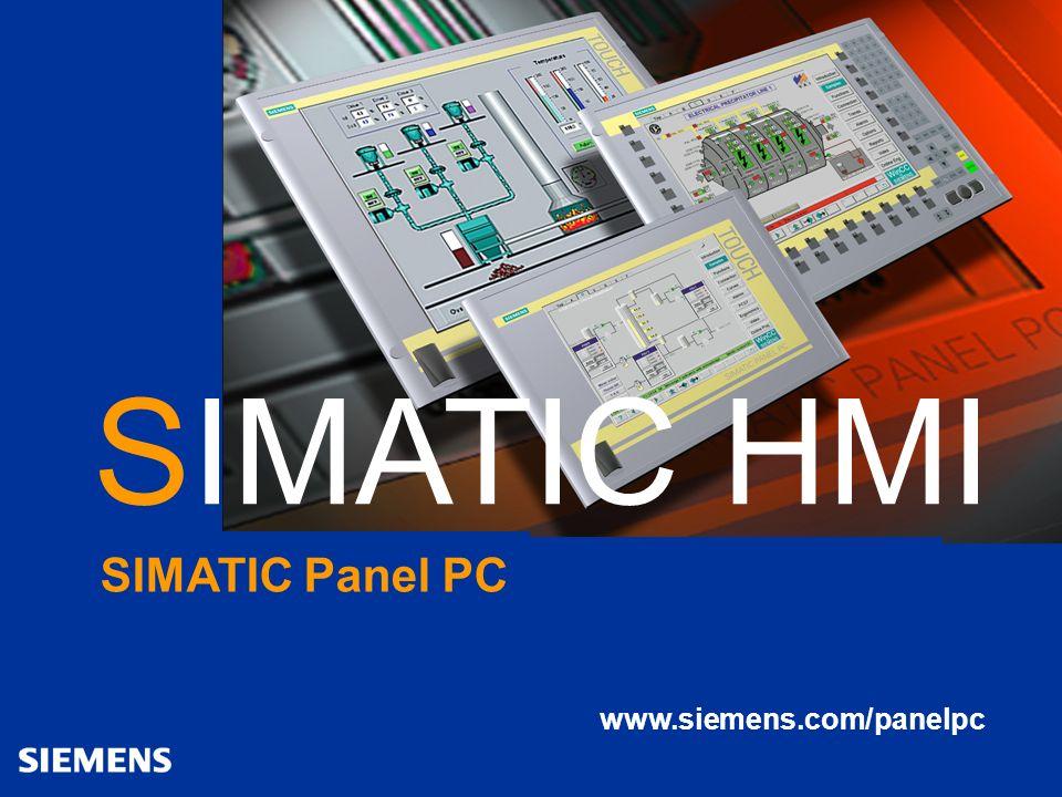 Automation and Drives SIMATIC HMI The Human Machine Interface panel_pc_IL77_0804_xed / 08/04 20 SIMATIC Panel PC IL 77 www.siemens.com/panelpc SIMATIC