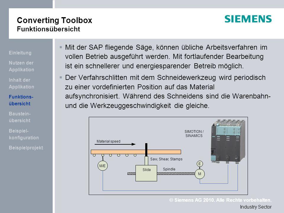 © Siemens AG 2010.Alle Rechte vorbehalten.