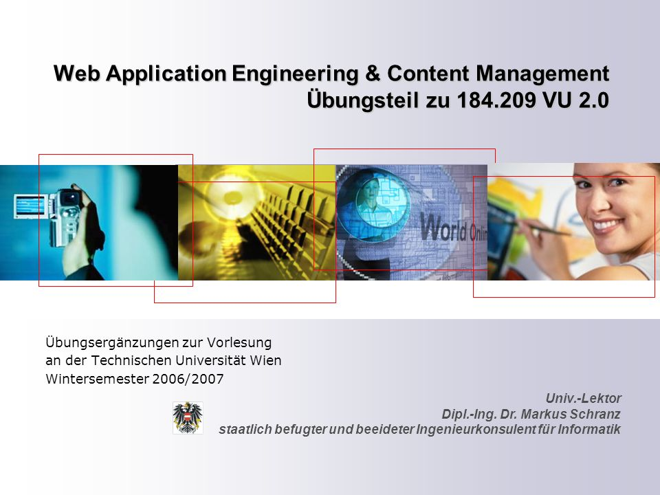 ZT Schranz Informationstechnologie KEG 2 Web Applikationsmanagement Application Server – [Forrester Research:] An application server is a software server product that supports thin clients with an integrated suite of distributed computing capabilities.