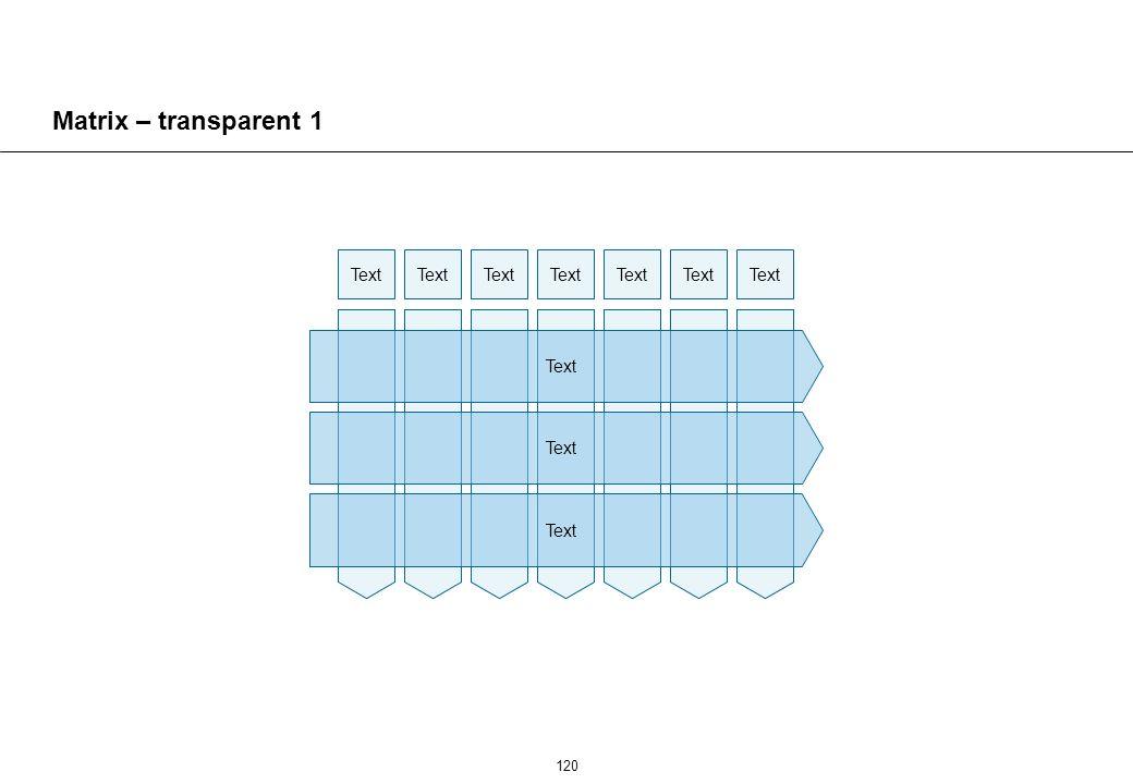 120 Matrix – transparent 1 Text