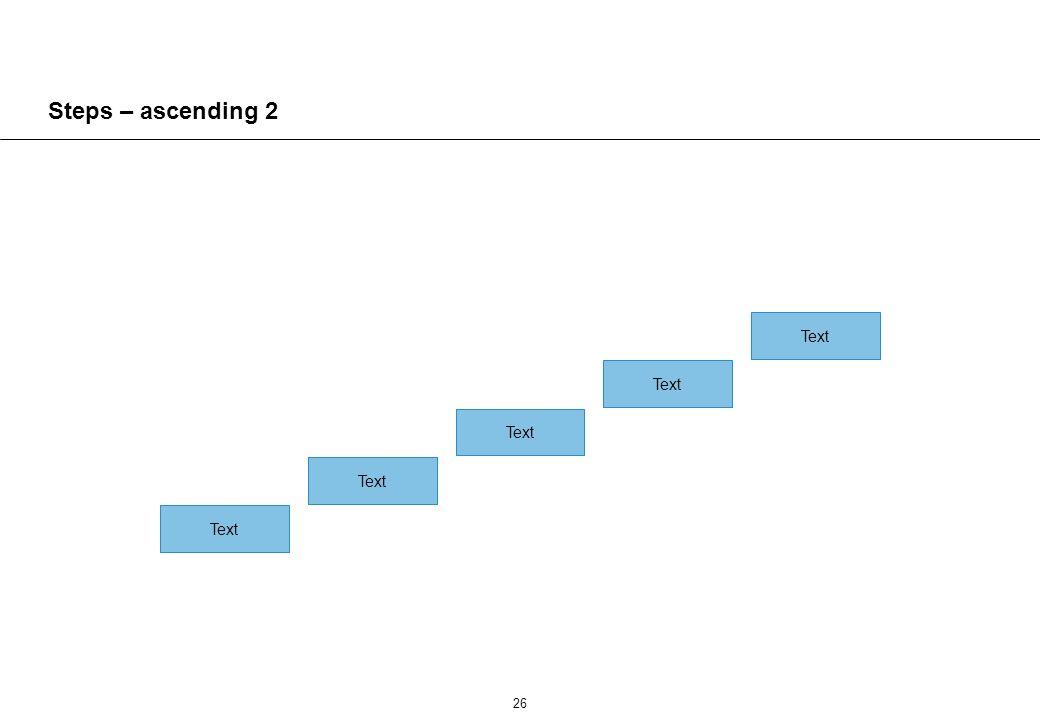 26 Steps – ascending 2 Text