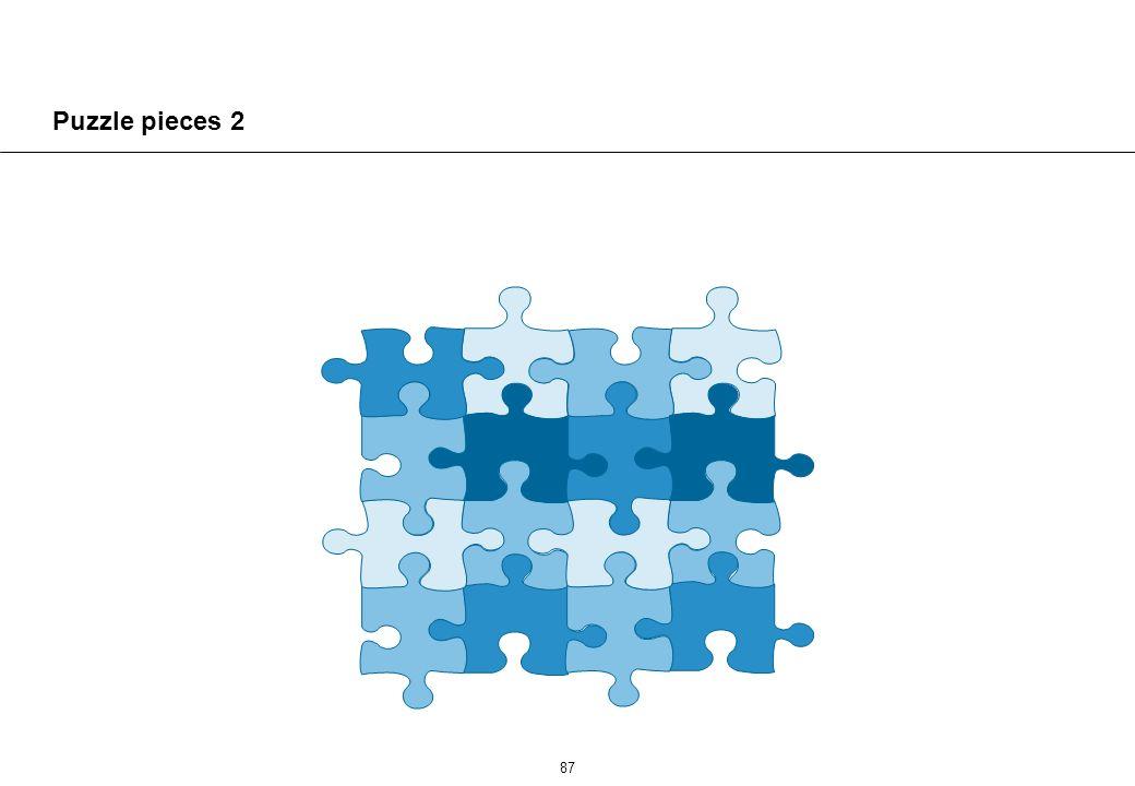 87 Puzzle pieces 2