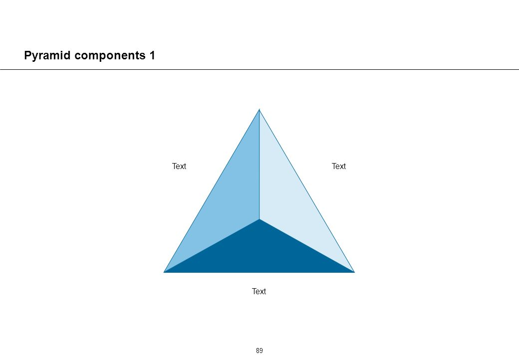 89 Pyramid components 1 Text