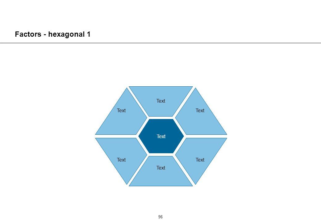 96 Text Factors - hexagonal 1 Text