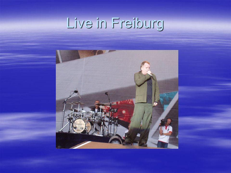 Live in Freiburg