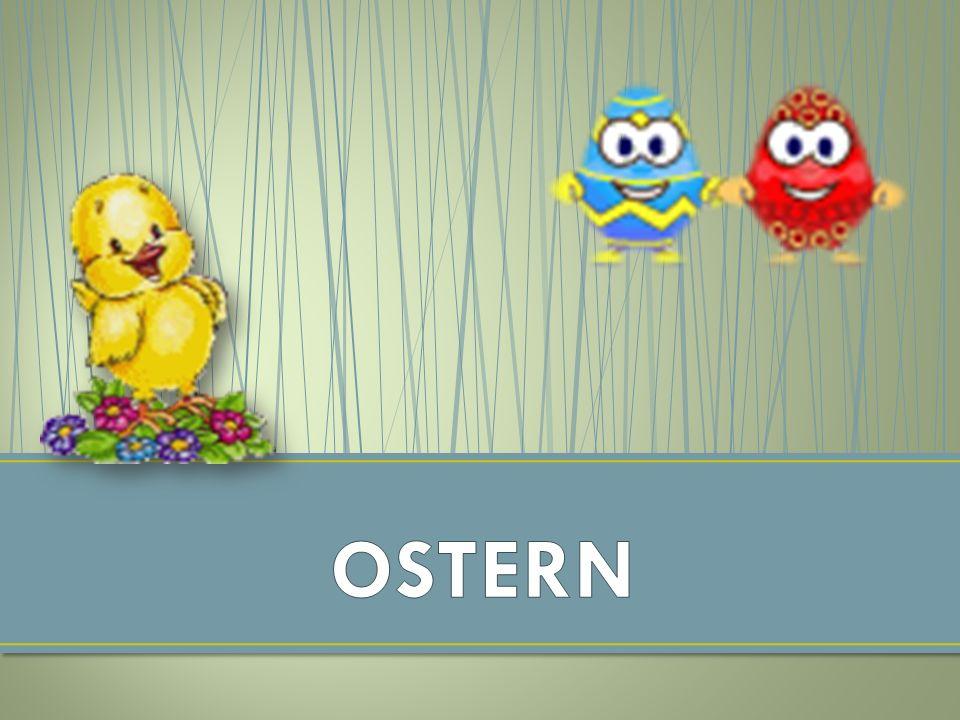 Ostern ist im Christentum die jährliche Gedächtnisfeier der Auferstehung Jesu Christi, der nach dem Neuen Testament als Sohn Gottes den Tod überwunden hat.