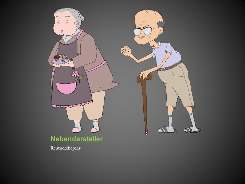 Nebendarsteller Rentnerehepaar